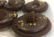 Chocolate Peanut Butter Cups from L-eat Catering at Toronto Catering Showcase