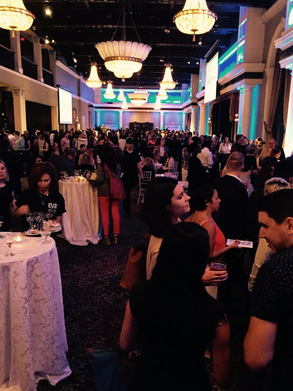 Guests at Eva's Taste Matters at Liberty Grand in Toronto
