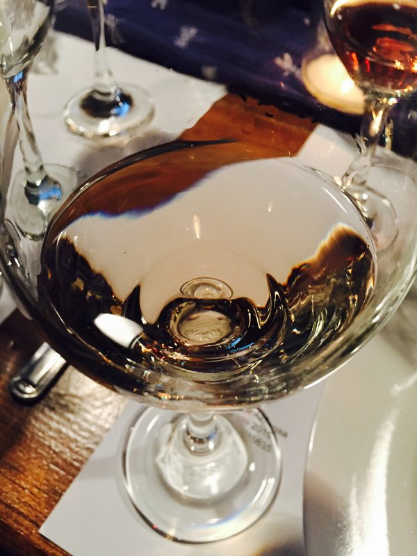 We tasted gris de gris at Wine Behind the Scenes event