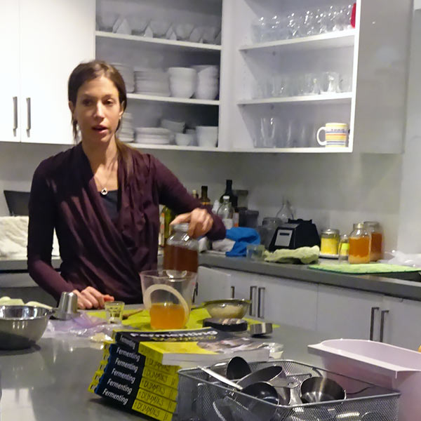 Marni wrote a book on fermenting, Fermenting for Dummies, so come learn the basics of fermenting from the expert herself.