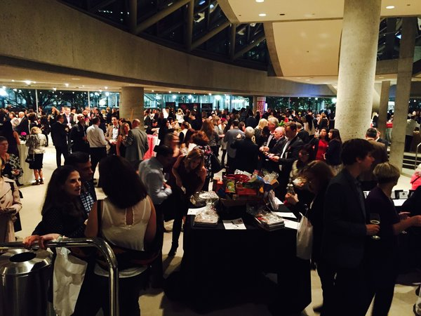A great crowd at Eat to the Beat at Roy Thomson Hall