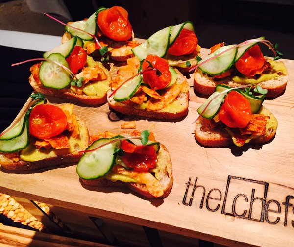 Vegan BLT from the Chef's Table at Eat to the Beat at Roy Thomson Hall