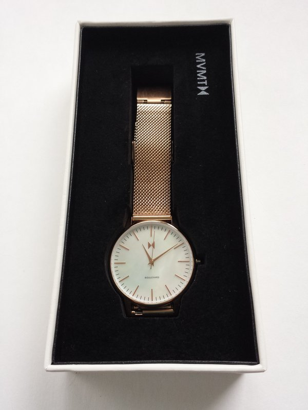 MVMT Sunset Ladies Watch from Boulevard Collection, $125 USD