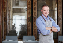 Chef Mark McEwan of Diwan at Aga Khan Museum