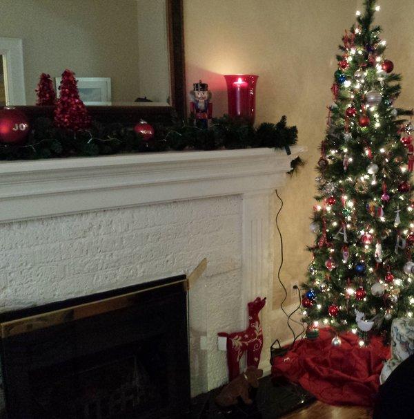 It's time to put away Christmas decor and take down the Christmas tree.
