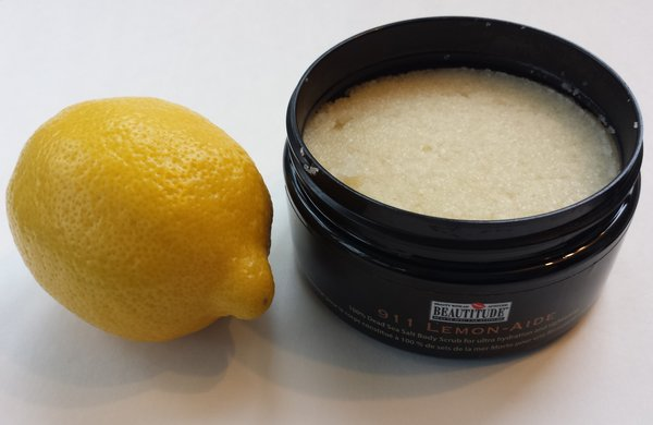 Beautitude 911 Lemon-Aide 100% Dead Sea Salt Body Scrub