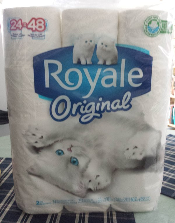 Royale Original Bathroom Tissue 24 Double Rolls from Walmart.ca