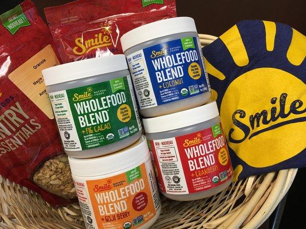 Wholefood Blend gift basket, value $85
