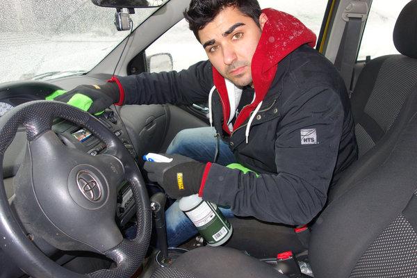 Justin Habayeh of Autoscrubs Ajax Pickering Auto Detailing