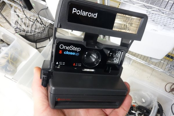 Polaroid camera for sale in Thrift Store, image courtesy of Torontonicity