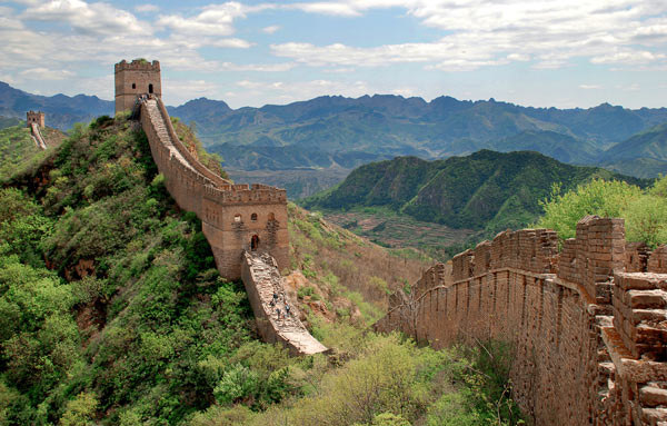 Shot of the Great Wall of China an example of engineering in Dream Big at Ontario Science Centre. Visit Ontario Science if you're wondering what's open Monday, February 19, 2018 in Toronto, photo courtesy Ontario Science Centre