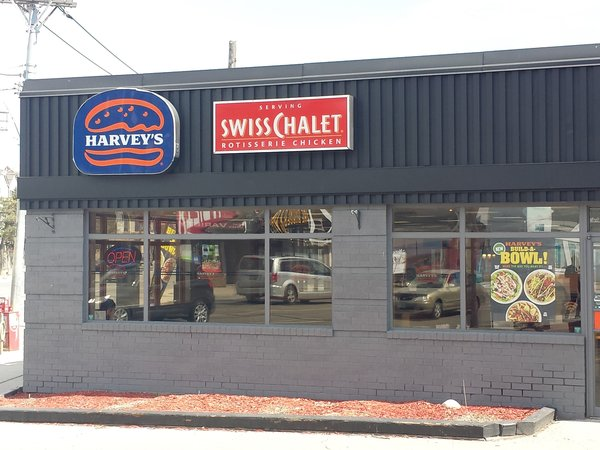 Harvey's at Queen Street East and Coxwell Avenue