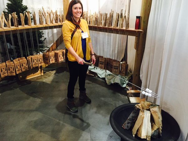 Campfire Stix by Ryan Swiderski at the One of a Kind Spring Show 2017