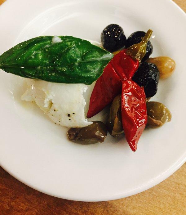 Mozzarella di bufala at Extraordinary Italian Taste at Cibo Wine Bar