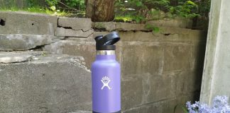 Hydro Flask in Plum in 21 oz., $39.95