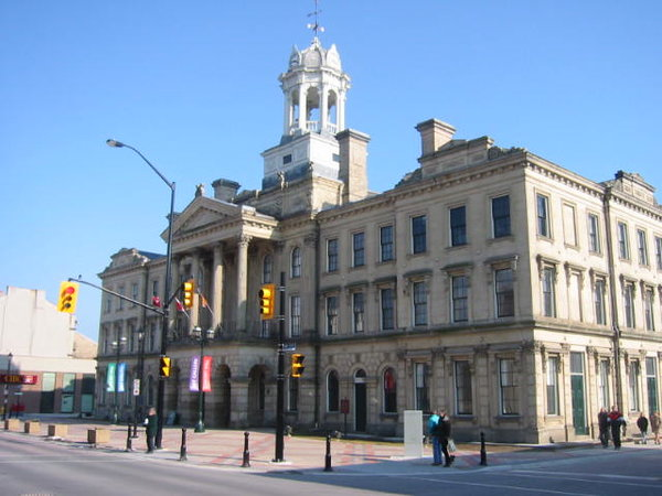 Victoria Hall, Cobourg, photo by NormanEinstein at English Wikipedia - Transferred from en.wikipedia to Commons., Public Domain, https://commons.wikimedia.org/w/index.php?curid=3091725