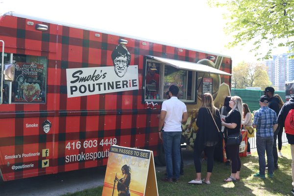 Smoke's Poutinerie Truck at Spring Session of Toronto's Festival of Beer