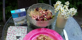 Beet, Quinoa, Avocado and Feta Salad