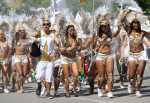 Grande Parade at Toronto Caribbean Festival