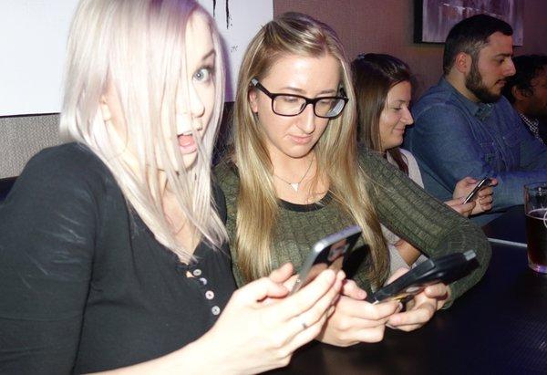 Participants in Tweetsteria event