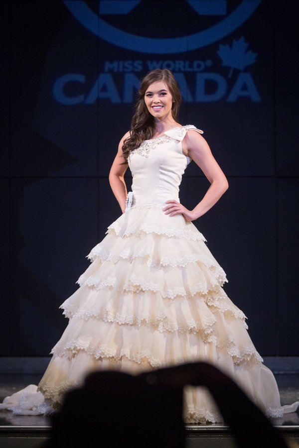 Katie Seto at Miss World Canada 2017