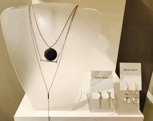Erin Tracy concrete jewellery at holiday gifts preview at Erin Tracy