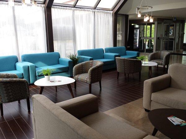 Lobby at the Ramada Resort Jackson's Point