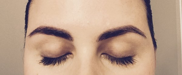 My brows done by Pretty In the City