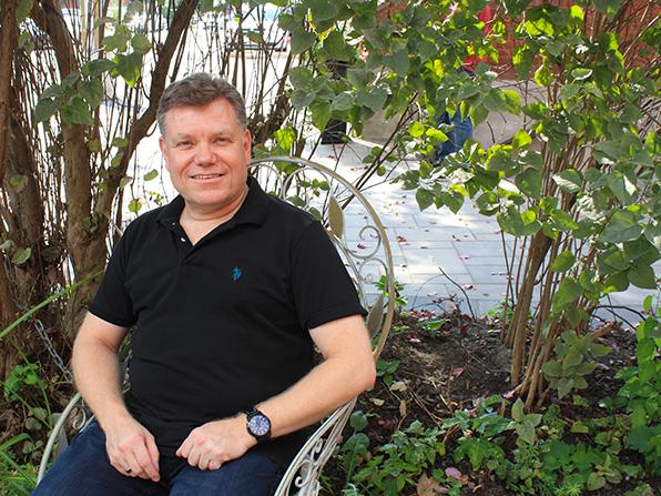 Richard Brouse, owner of The Gilmour Inn, Ottawa