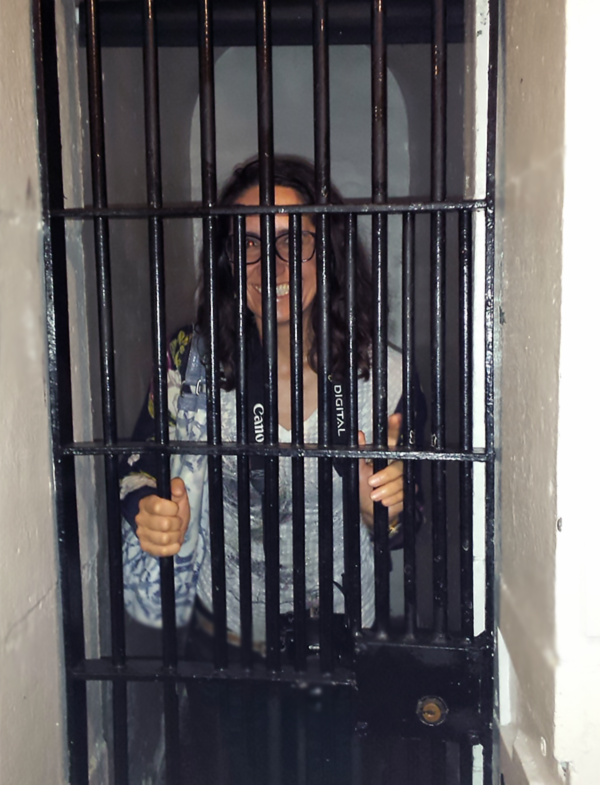 "Taking a ""Cell-fie"" inside the old Carleton County Jail."