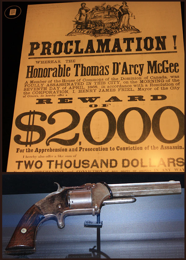 The gun that may have been used in Canada's first political assassination.