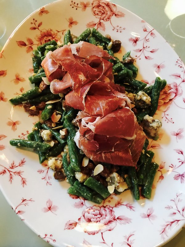 Green Bean Salad at Victor Restaurant at Le Germain Hotel