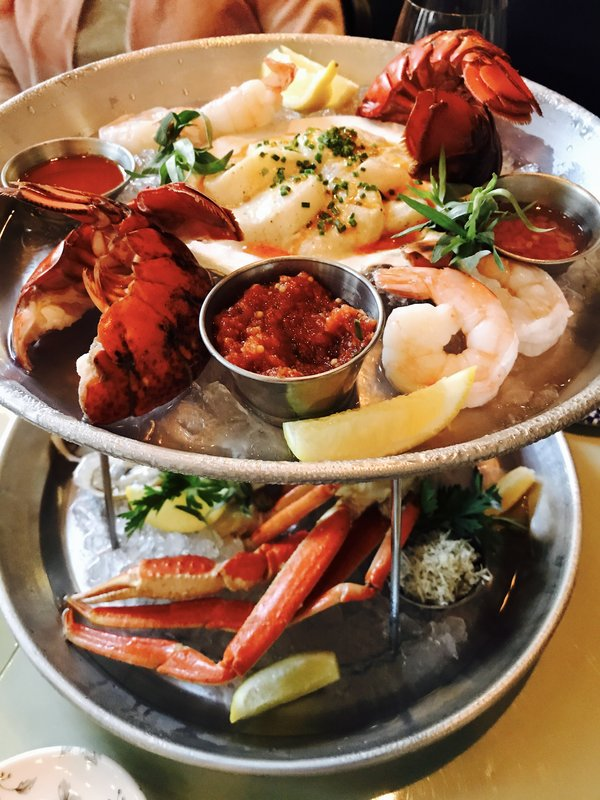 Seafood Platter at Victor Restaurant, Toronto