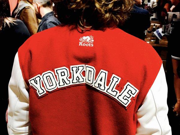 Varsity Jacket from Roots