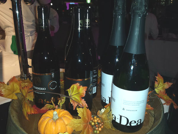 Wines from Casa-Dea Estates Winery of Prince Edward County at Eat to the Beat