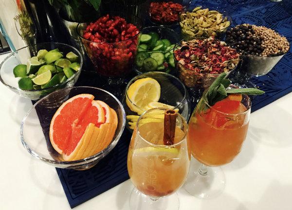 Bombay Sapphire Custom Cocktails