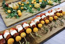 Columbian appetizers from Familia Fine Foods at the Gourmet Food & Wine Expo in Toronto