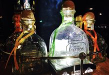 Patron Silver Bottle at the Patron Perfectionists Competition at the Broadview Hotel
