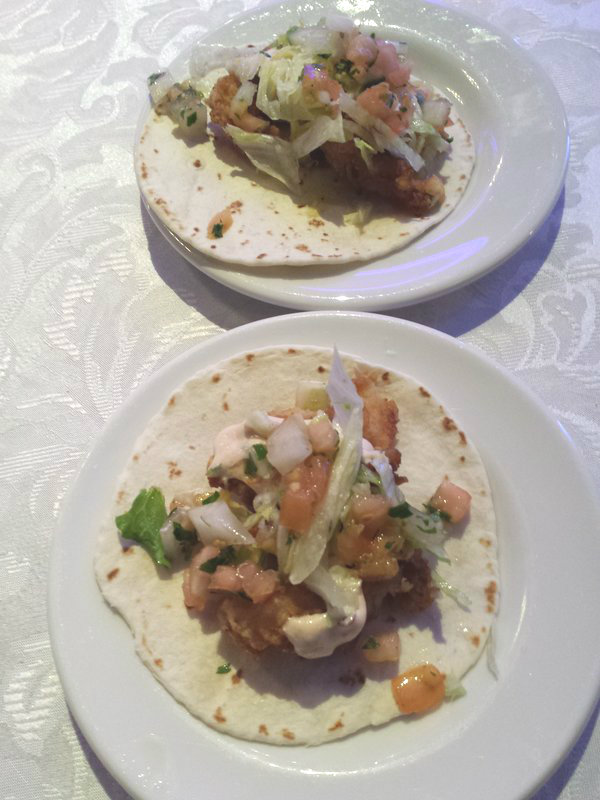 Fish Tacos from Rancho Relaxo at Taste Matters at the Liberty Grand