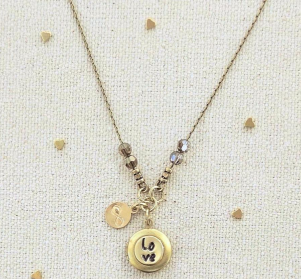 Infinite Love Mommy & Me Locket Daughter from One Thing