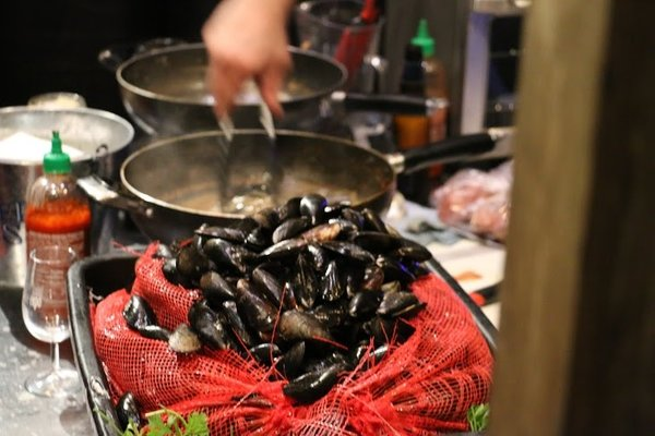 Mussels at Gourmet Food and Wine Expo 2017 in Toronto