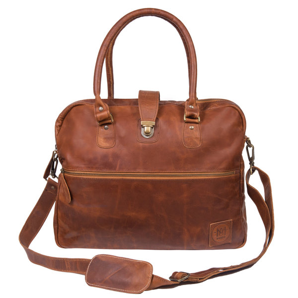 The Cornell Bag from MAHI Leather is an example of gifts that give back