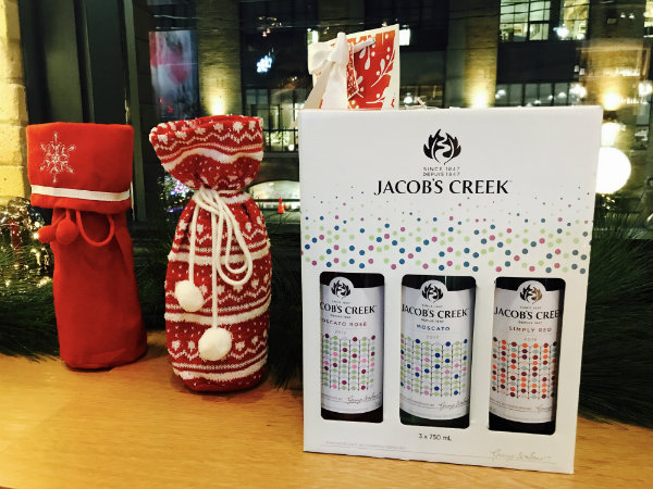 Gift Idea from Jacob's Creek at LCBO Holiday Pop Up in Toronto