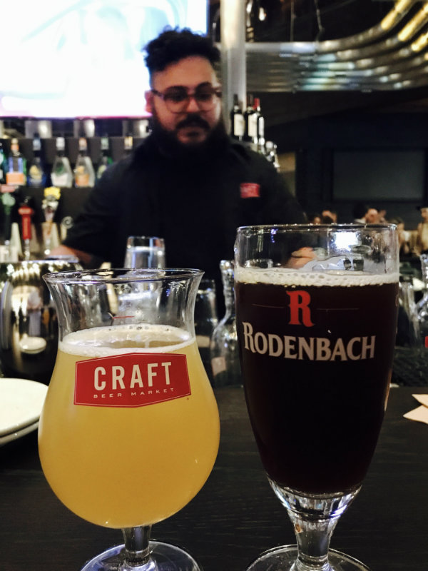 Rodenbach and 3 Musketeers at CRAFT Beer Market in Toronto