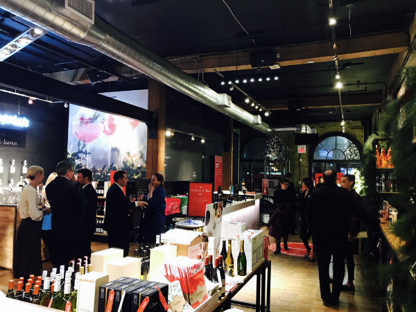 Main Space at LCBO Holiday Pop Up in Toronto
