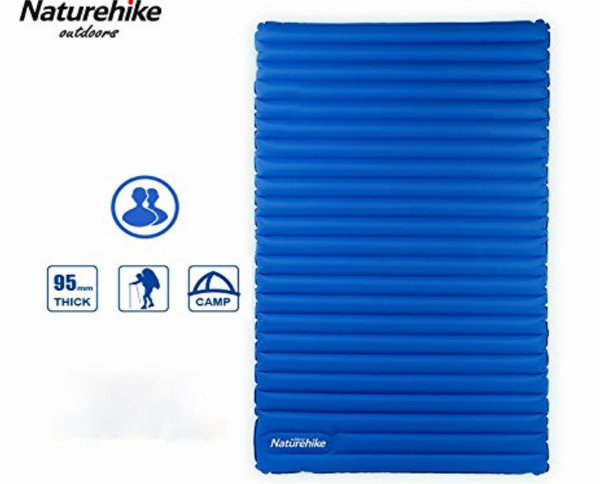 Naturehike Ultralight Double Inflatable Air Mattress Outdoor Sleeping Pad