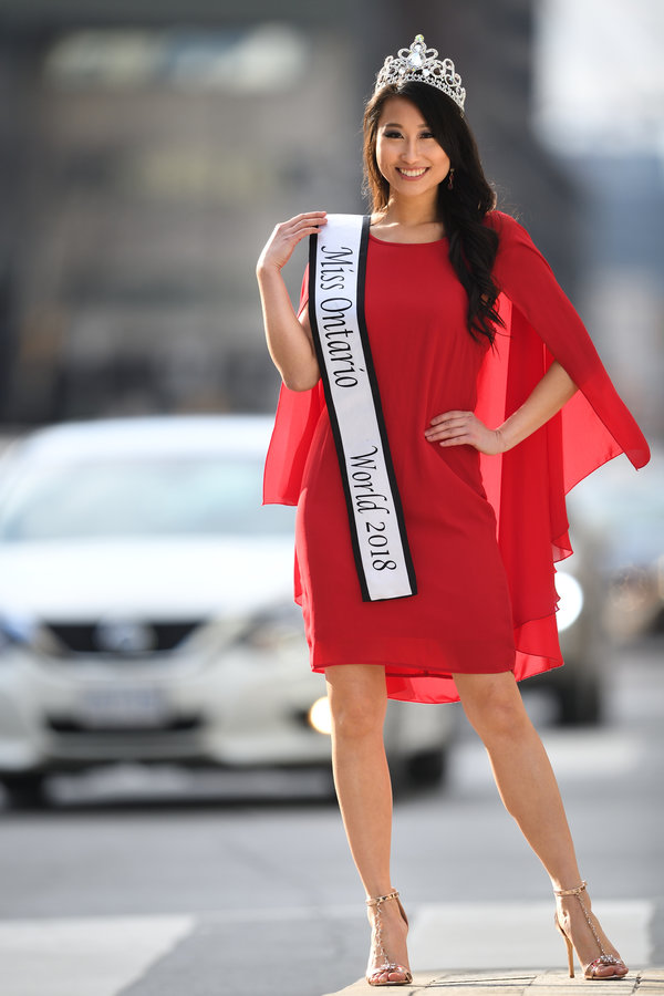 Alice Li, Miss Ontario World 2018, photo credit Charlie Lam https://sircharlie.com/