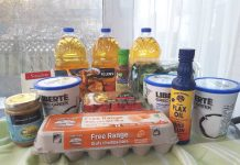 Groceries I purchased from InstaBuggy.