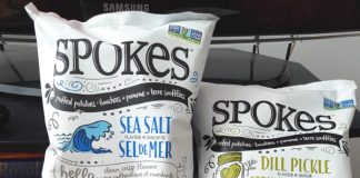 SPOKES Air Puffed Potato Snacks
