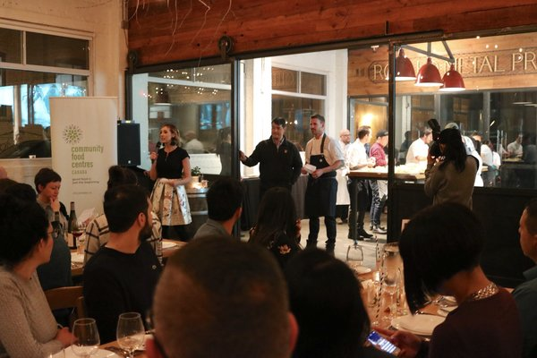 Aeroplan's Chefs for Change at Propeller Coffee